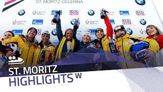 Humphries/Gibbs get the job done in sunny St. Moritz | IBSF Official