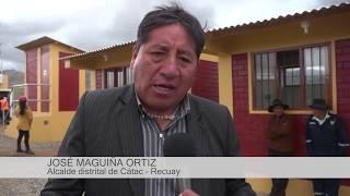 Moderno relleno sanitario para Cátac