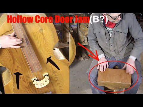 Make Wood Bongos From Old Doors || Easy, Fun DIY Project