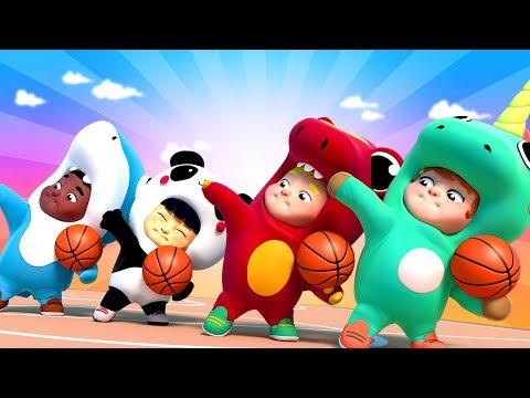 BasketBall Song   Basket Match   One Zeez 🎤 Kids songs and dance for Children Nursery Rhymes 🎷