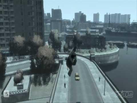 GTA IV More Bike Stunts And Crashes