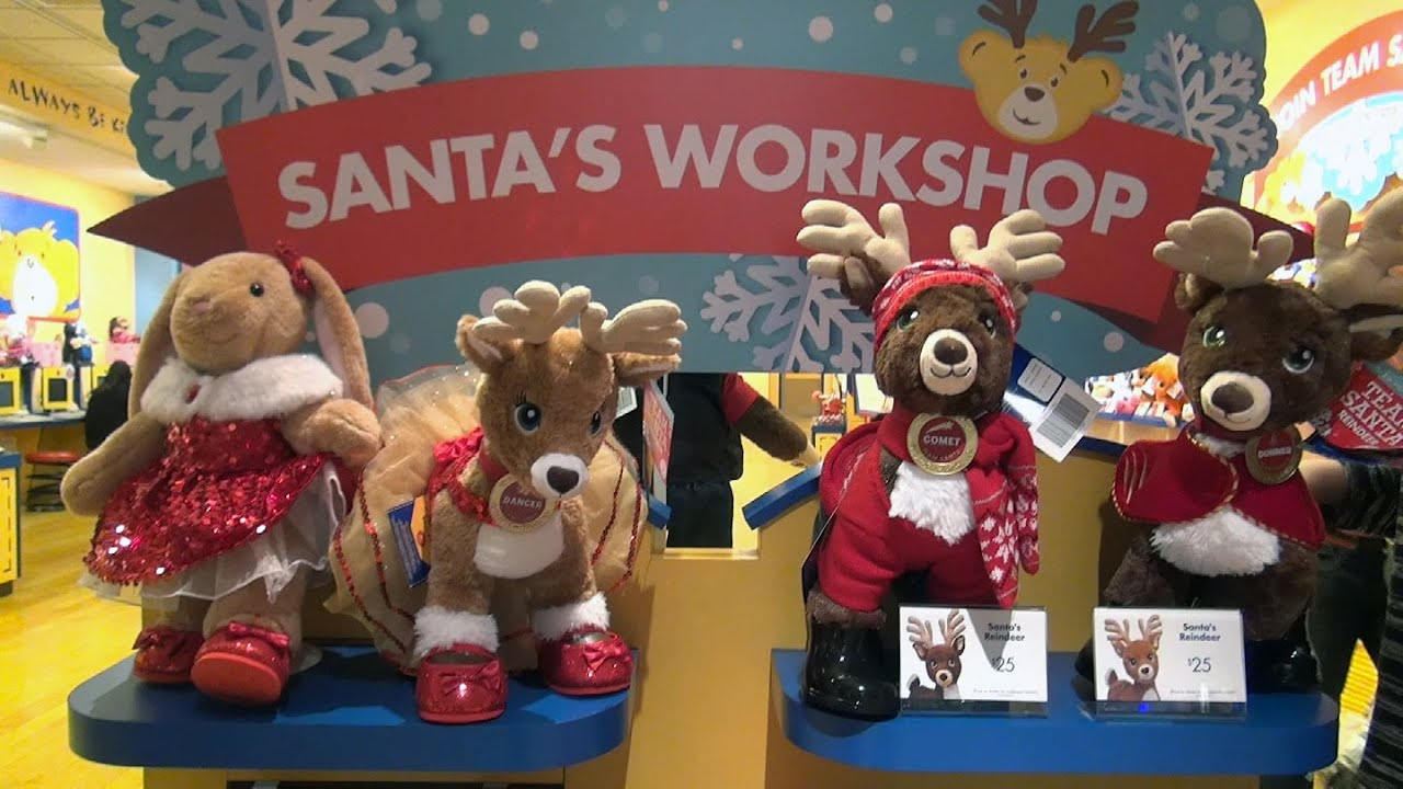 Santa's Workshop - Build-A-Bear - Christmas Reindeer and More ...