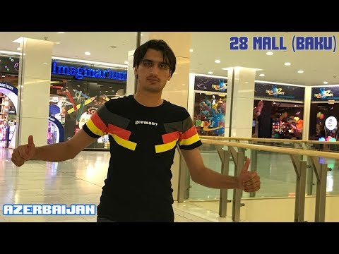 "Shopping in Azerbaijan Baku ""28 Mall"" 