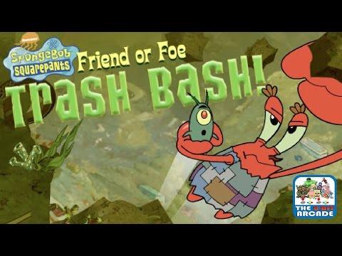 SpongeBob SquarePants: Friend Or Foe - TRASH BASH! (Nickelodeon Games)