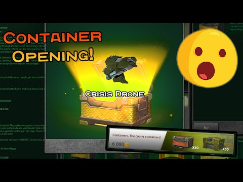 Tanki Online - *HUGE* Container Opening #2! | EPIC ITEMS! | Lockdown 3.0