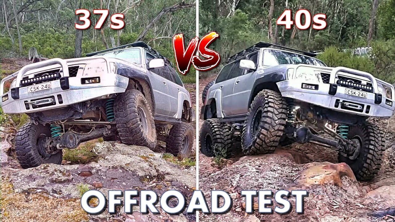 The Ultimate Offroad Test 37s Vs 40s Youtube