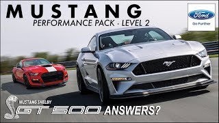 2018 Mustang Performance Pack 2: GT500 ANSWERS? (Exclusive Ford Event - Monticello, NY)
