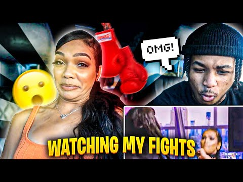 DDG REACTS TO MY BADDEST BAD GIRL'S CLUB MOMENTS!!!