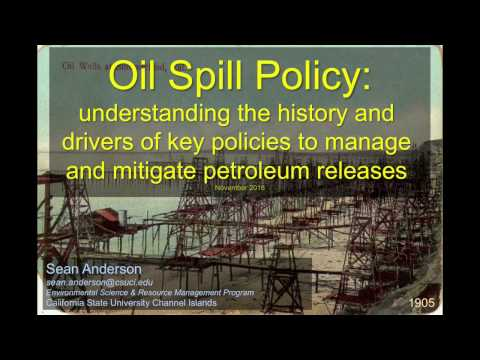 Oil Spills & Policy