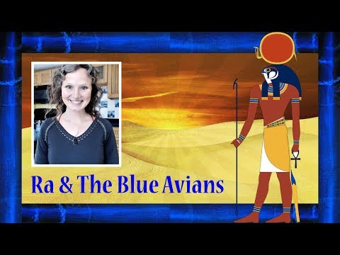 Ra & The Blue Avians | Healing With Interdimensional Beings | Abbey Normal's Wisdom Quest