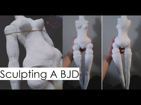 Making A BJD From Scratch! With A Blueprint!