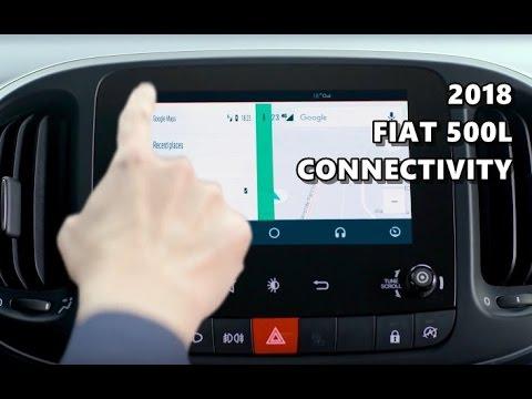 2018 Fiat 500L Connectivity Features