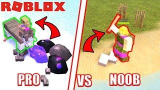 PRO vs NOOB Roblox Booga Booga ft. NubNeb
