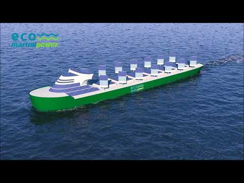 Aquarius Eco Ship - low emission shipping with wind propulsion and solar power