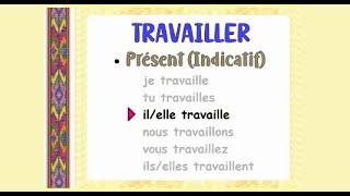 Verbe Travailler Conjugaison Audio