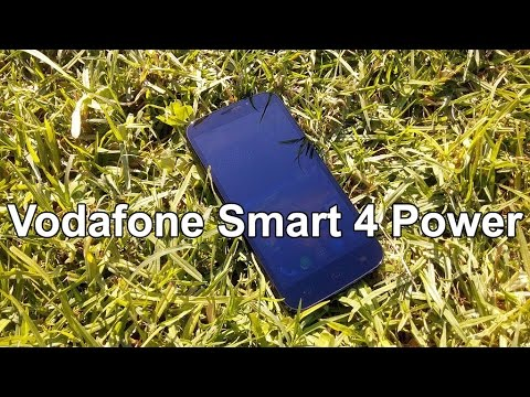 Vodafone Smart 4 Power Hands on Review