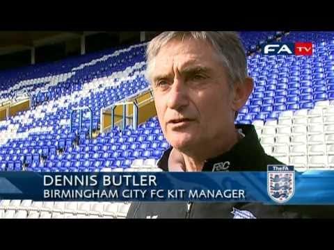 Spirit of the Cup - Birmingham City Kitman Dennis Butler