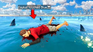 GTA 5 But You CAN'T TOUCH The Color BLUE!