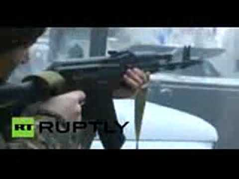 chechnya terror attack heavy fighting in Grozny force shootout