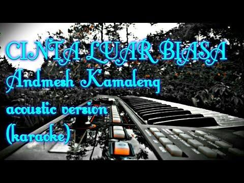 Cinta Luar Biasa Acoustic Version Karaoke