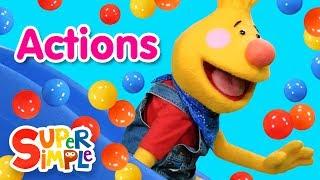 Super Duper Ball Pit - Action Words for Preschoolers
