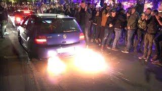 WÖRTHERSEE 2019 - Crazy Action! Burnouts, Antilag, Revs!