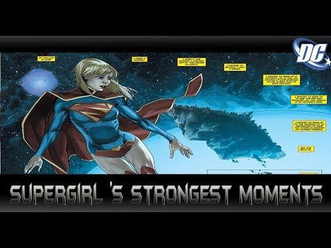 [ความโม้สุดๆของ Supergirl ]comic world daily