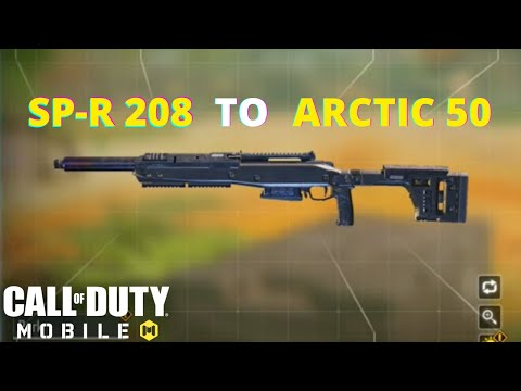 New SP-R 208 Gunsmith In COD Mobile   Call Of Duty Mobile