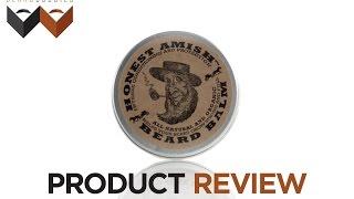 Honest Amish Beard Balm: Beard Product Review