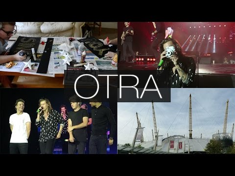 VLOG: OTRA London Tour | SURPRISE FRONT ROW SEATS & BEING ON THE RADIO!