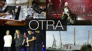 VLOG: OTRA London Tour   SURPRISE FRONT ROW SEATS & BEING ON THE RADIO!