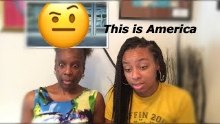 MY GRANDMA REACTS TO THIS IS AMERICA!