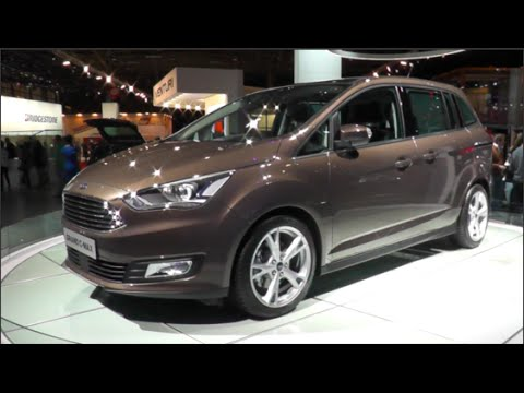 ford grand c max 2015 in detail review walkaround exterior. Black Bedroom Furniture Sets. Home Design Ideas