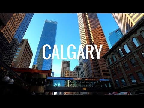 Calgary - Beautiful city, Alberta, Canada