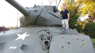 Tank and Plane at Local VFW