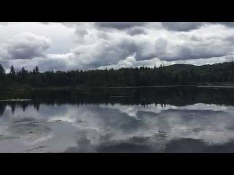 Kayaking on Mountain View Lake, Mountain View, NY