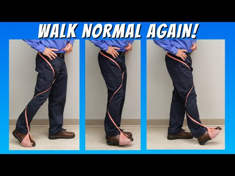 BEST 3 Foot Drop Tests to How to Walk Normal Again (After Stroke, Nerve Damage, or Weakness)