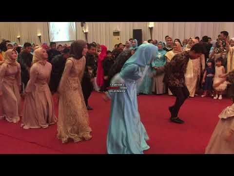 Hindustan Flashmob Wedding Tita Dan Andre 2018 (indonesia-medan)