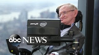 Stephen Hawking Launches Search for Signs of Life in Universe