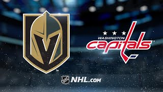 Smith powers Golden Knights to 4-3 win against Caps