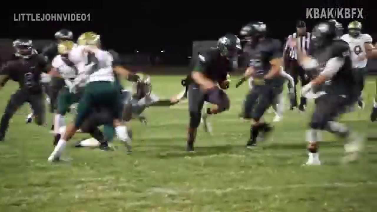 Burroughs High School Football Burroughs Highlights 09 11 15