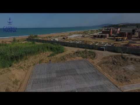 Старт строительства Caspian Marina!