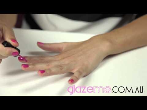 glazeme-uv-nail-polish-application-process