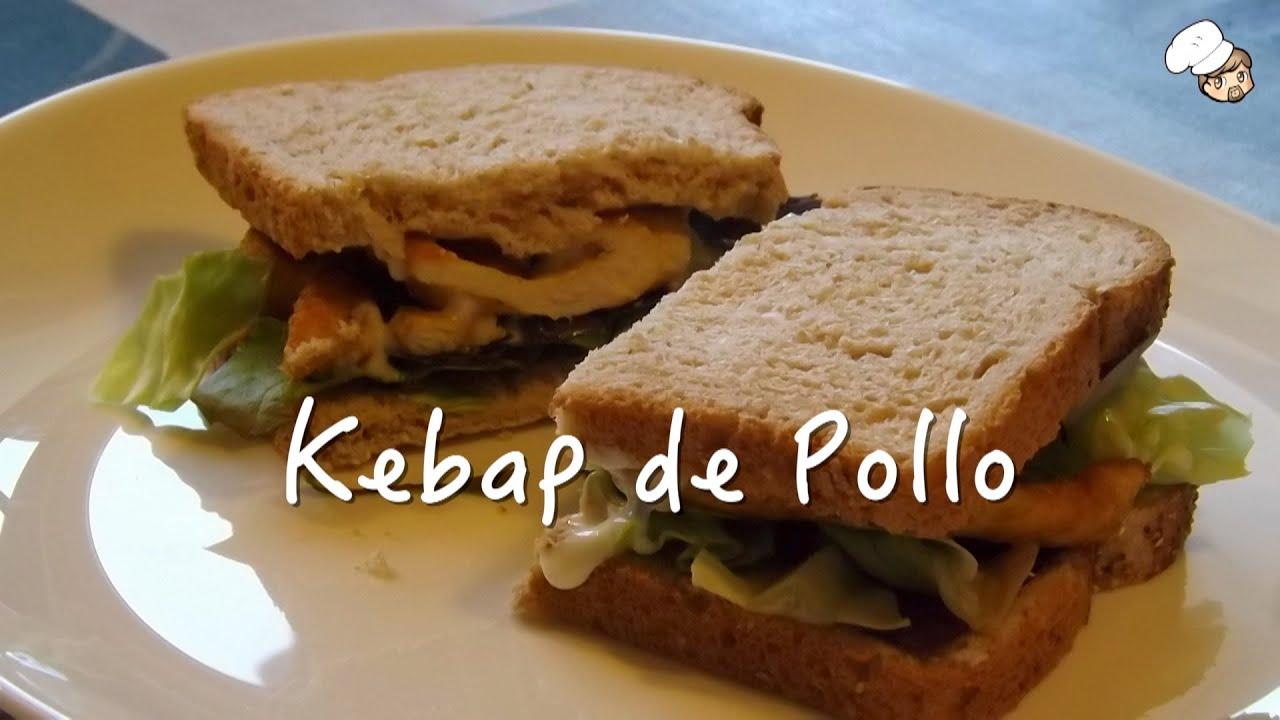 Kebab o shawarma de pollo receta f cil y r pida envidia for Cocina facil y rapida
