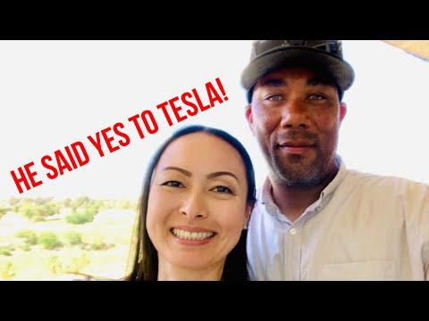 I Convinced Husband To Get A Tesla