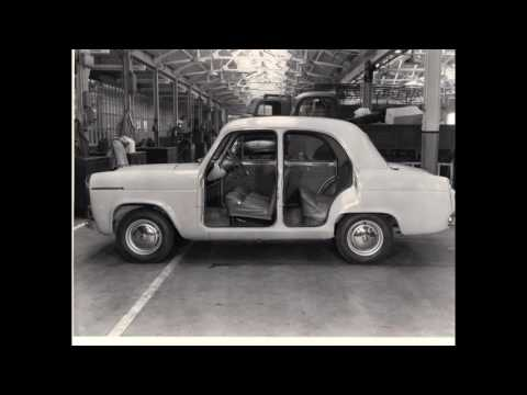 Ford 100E Sidevalve Saloons - Early production and prototypes.