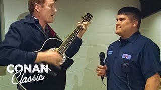 Conan Goes To Houston To Find Viewers - Conan25: The Remotes
