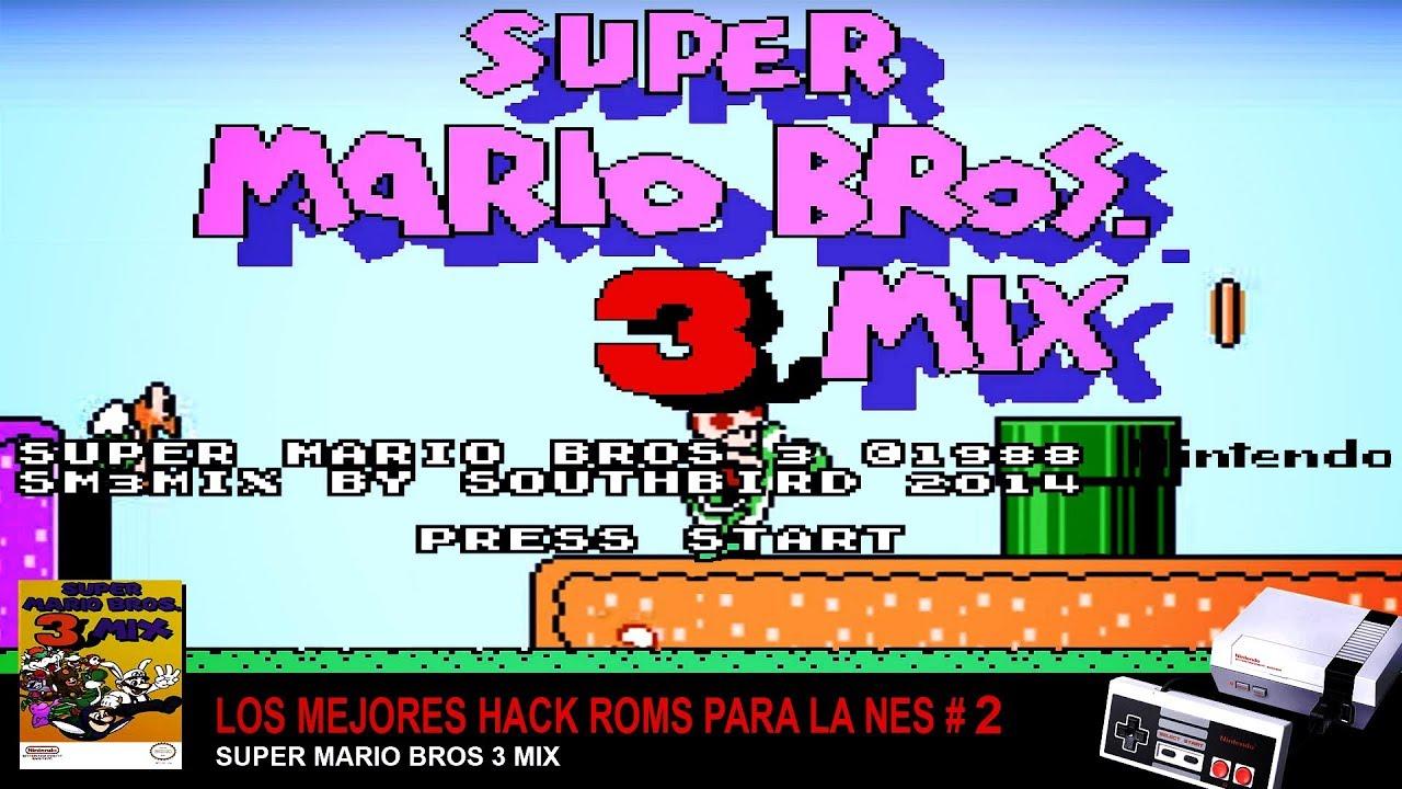 Super Mario Bros 3 Nes Rom Espanol