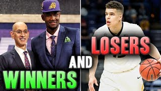The Winners And Losers Of The 2018 NBA Draft