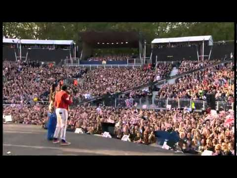 Will.i.am e Jessie J - I Gotta Feeling & This Is Love - Diamond Jubilee Concert